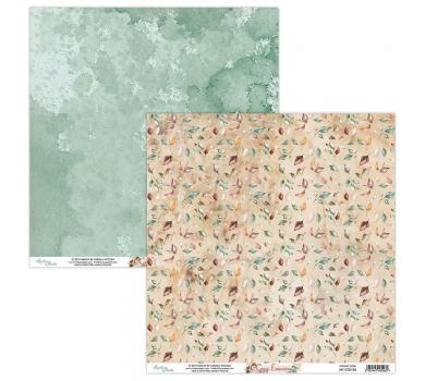Бумага двусторонняя для скрапбукинга Cozy Evening by Mintaypapers, арт. MT-COZ-05