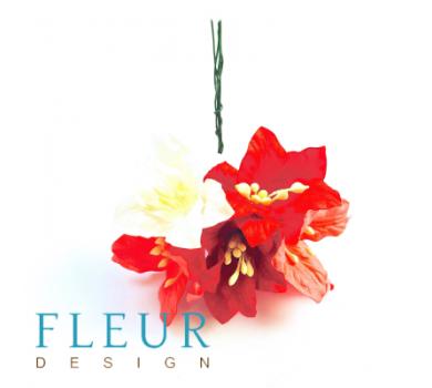 Цветы Лилии микс красно-розовых оттенков, FD3031078