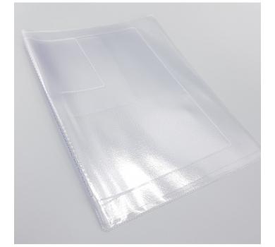 Вкладыш-органайзер для документов прозрачный (нового образца), SC401503