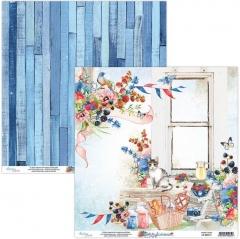Бумага двусторонняя для скрапбукинга Berrylicious by Mintaypapers, арт. MT-BER-01