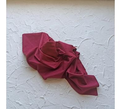Искусственная замша двусторонняя, цвет марсала, арт. 411608