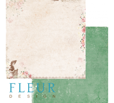 Лист бумаги для скрапбукинга Новый день, коллекция Забытое лето, арт. FD1005304