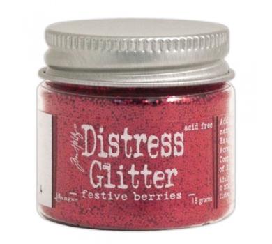 Сухой дистресс-глиттер Festive Berries, 18 гр, 39174