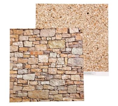 Двусторонний лист Галечный песок, коллекция Naturals, 1477404
