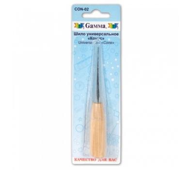 Шило универсальное с деревянной ручкой Конус, CON-02