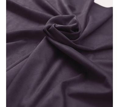 Искусственная замша двусторонняя, цвет баклажан, арт. 411605