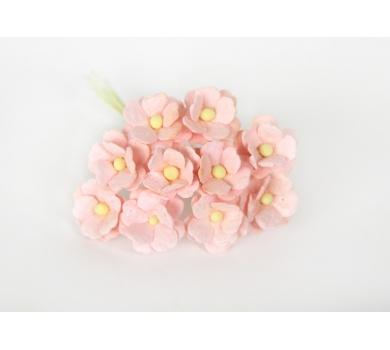 Цветочки Вишни средние, цвет розово-персиковый светлый, KA421102