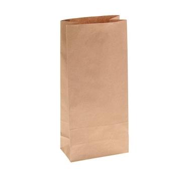 Пакет крафт бумажный фасовочный, 12 х 8 х 24 см, 70 г/м2, 1225530