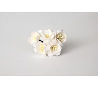 Цветочки Вишни, цвет белый, KA411100