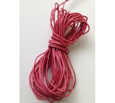 Шнур вощеный ярко-розовый,  JB-01/070