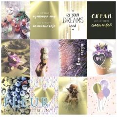 Набор карточек коллекция Pretty violet, FD1117002