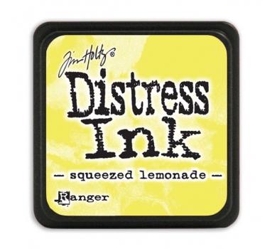 Штемпельная мини-подушечка Tim Holtz Distress Mini Ink Pads на водной основе, свежевыжатый лимонад, TDP40200