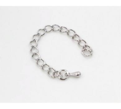 Цепочка декоративная, цвет серебро, KA430903