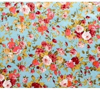 Ткань для рукоделия цветочная классика, HY5020602