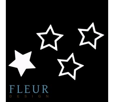Заготовка для шейкера Звёздочка от FLEUR design, FD1531005