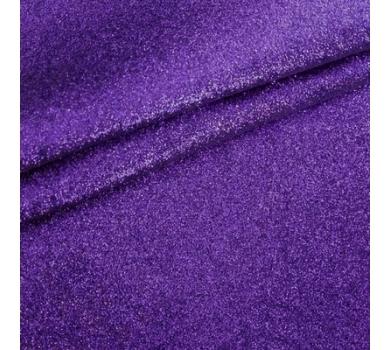 Ткань с глиттером, цвет индиго, SC400517