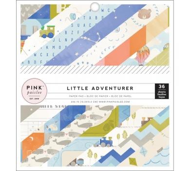 Набор односторонней бумаги Little Adventurer Boy, 310745