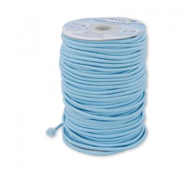 Шнур эластичный, цвет голубой , EC-20/129
