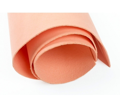 Кожзам (экокожа) цвет персиковый, 50х35см, арт. ABV-004
