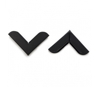 Металлические уголки, цвет черный, 30х30 мм, 1 шт., 131012