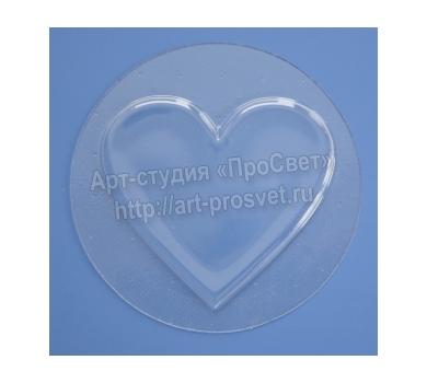 Заготовка для шейкера Сердце, арт. ARTPMD0011