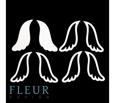 Заготовка для шейкера Крылья от FLEUR design, FD1531038