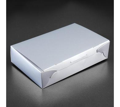 Коробка подарочная, серебро, арт. 3824608