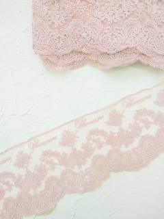 Кружево Blumarin, цвет нежно-розовый, арт. BLM001