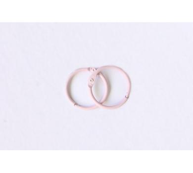 Кольца для альбомов, цвет розовый, арт. SCB2504450