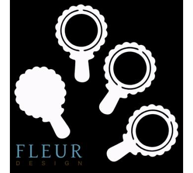 Заготовка для шейкера Погремушка от FLEUR design, FD1531008