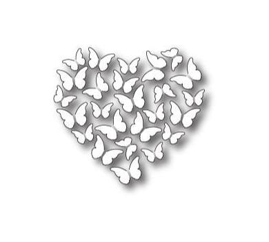 Нож для вырубки Butterfly Heart, арт. MB98778