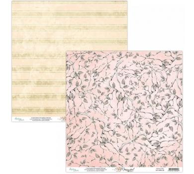 Бумага двусторонняя для скрапбукинга Marry me by Mintaypapers, арт. MT-MRM-05