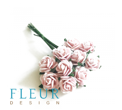 Мини-розочки Лавандовые, размер цветка 1 см, 10 шт/упаковка FD3072187
