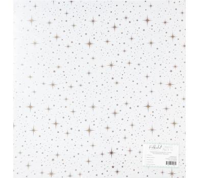 Прозрачный ацетатный лист с золотым фольгированием Мерцание, ac100-07