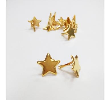 Брадс Звездочка, цвет золото, 201401
