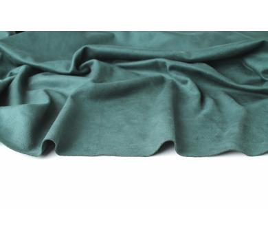 Искусственная замша двусторонняя, цвет изумруд, арт. 411603