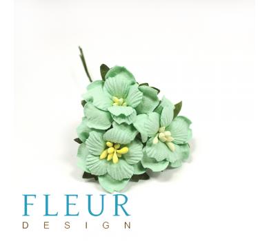 Цветы Пионы мятные, размер цветка 3,5 см, 3 шт/упаковка, FD3143166