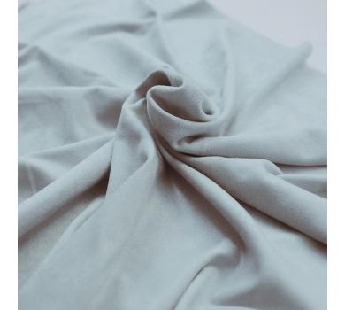 Искусственная замша двусторонняя, цвет голубой, арт. 401618