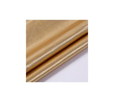 Кожзам с эффектом металлик, цвет темное золото, KA410406