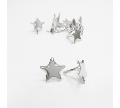 Брадс Звездочка, цвет серебро, 201402