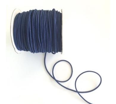 Шнур эластичный, цвет темно-синий, EC-20/038