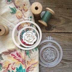 Набор ножей для вырубки Бабушкины пяльцы,  MMC-M0017