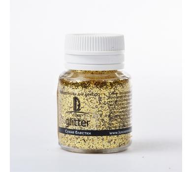 Глиттер декоративный золотой, арт. GL14V20