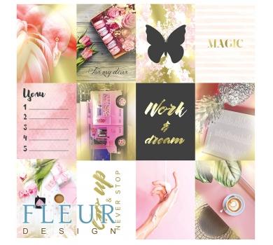 Набор карточек Pretty pink, FD1116801