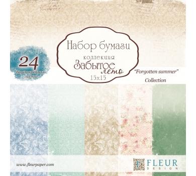 Набор бумаги Забытое лето от FLEUR design, арт. FD1005315