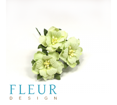Цветы Пионы светло-зеленые, размер цветка 3,5 см, 3 шт/упаковка, FD3143161