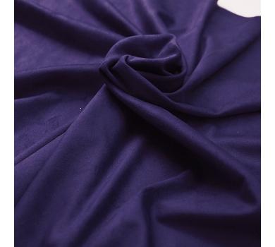 Искусственная замша двусторонняя, цвет ярко-фиолетовый, арт. 411610
