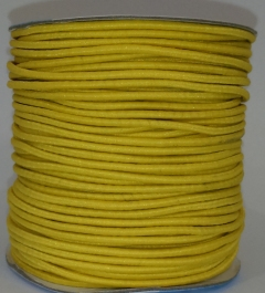 Шнур эластичный цвет желтый , EC-20-020