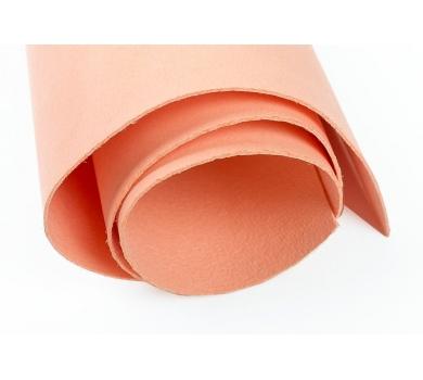 Кожзам (экокожа) цвет персиковый, 25х35см, арт. ABV-004-1