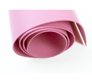 Кожзам (экокожа) цвет розово-сиреневый, 25х35см, арт. ABV-003-1